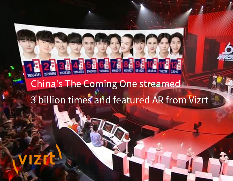 China's The Coming One streamed 3 billion times and featured AR from Vizrt