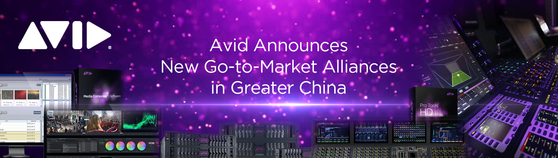 Avid Announces New Go-to-Market Alliance in Greater China