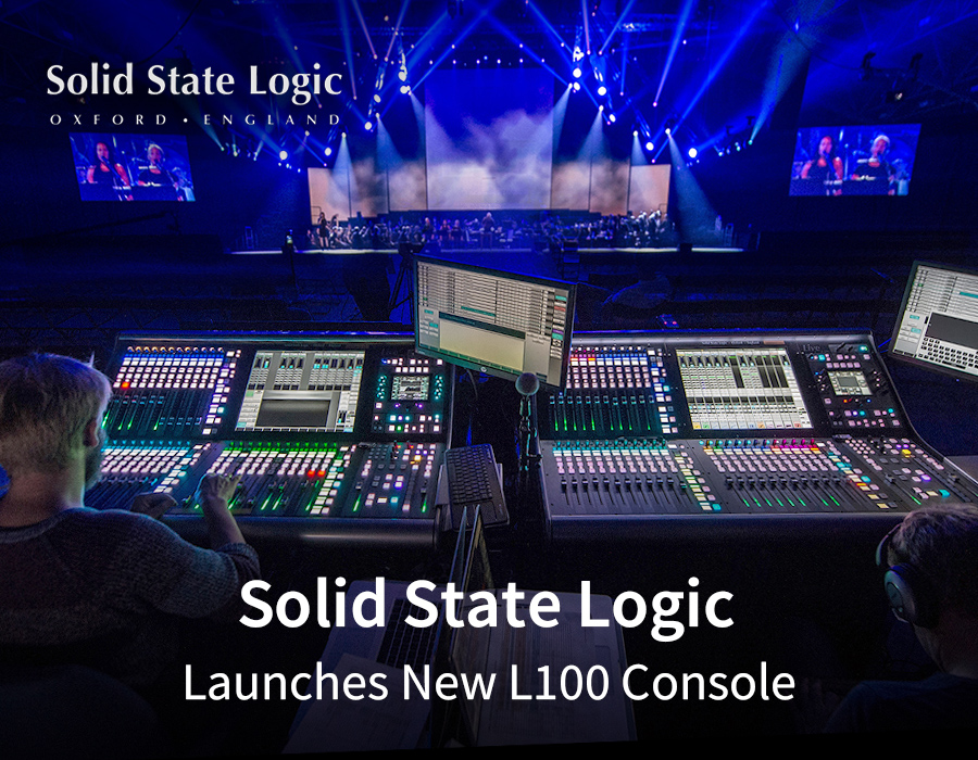 Solid State Logic Launches New L100 Console Lve