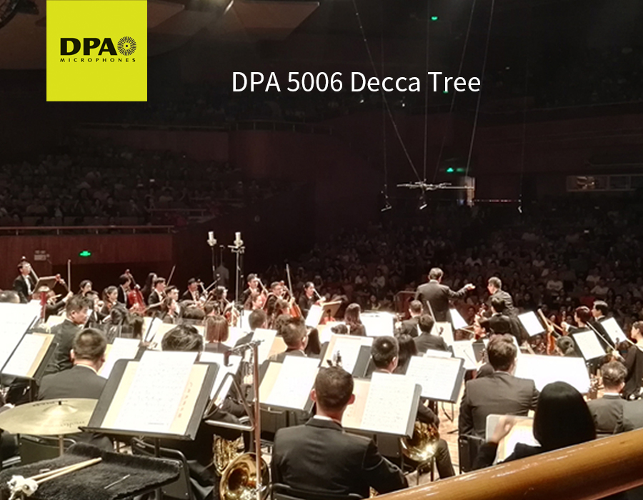DPA 5006 Decca Tree perfectly captured t