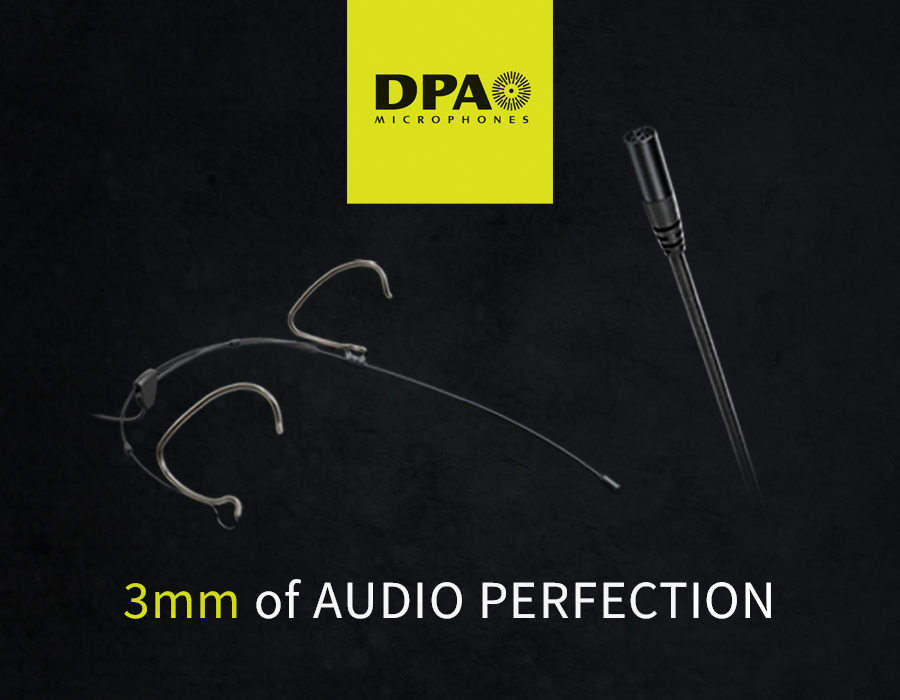 DPA 3mm Audio Front
