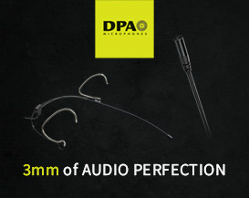 DPA's new Subminiature Microphones - 3mm of Audio Perfection