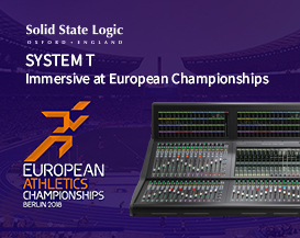 ​SSL System T, Immersive at European Championships
