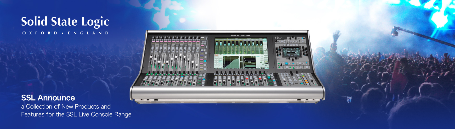 SSL L550 - a Collection of New Products and Features for the SSL Live Console Range