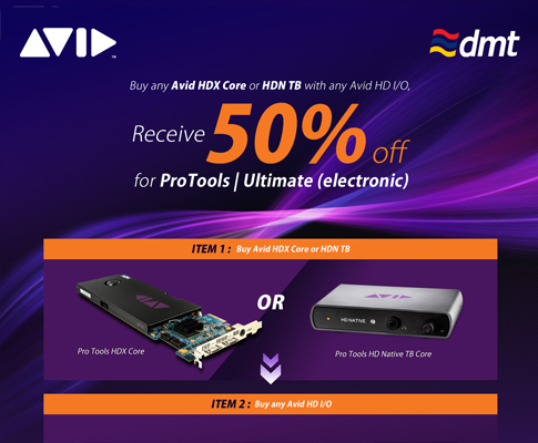 AVID Pro Tools Ultimate Promotion