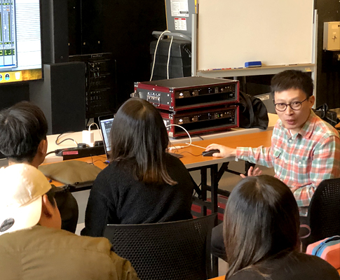 Frankie HUNG's UAD Sound Mixing Seminar and Mixing Clinic at The Hong Kong Academy for Performing Arts (HKAPA)