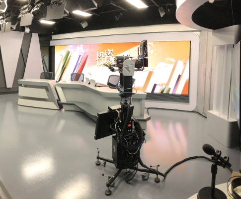 RTHK Studio 5 uses Vizrt's Augmented Reality
