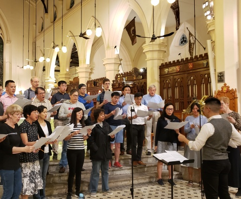 Church Choir Live Recording Experience in HK
