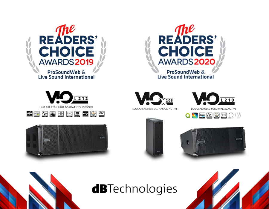 DBTechnologies Wins The Readers' Choice