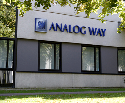 Analog Way - Pioneer in Analog, Leader in Digital