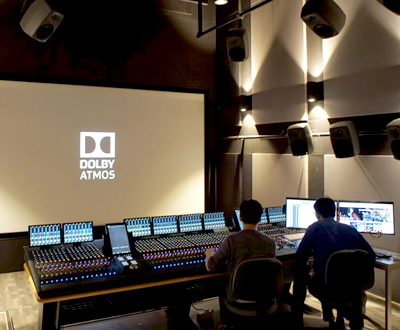 DMT Installs HKBU - Certified Dobly Atmos ® Avid S6 64 Faders Control Surface Film & Music Mixing studio
